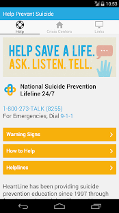 HELP Prevent Suicide- screenshot thumbnail