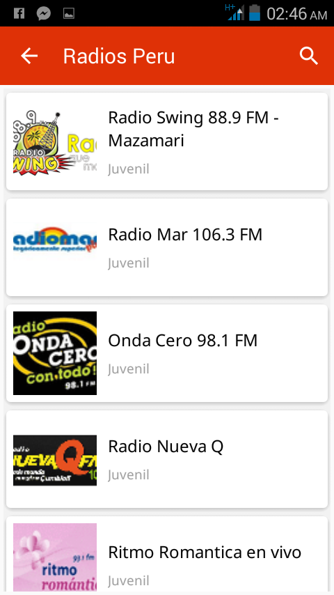 Radios Peru  Sower Tec- screenshot