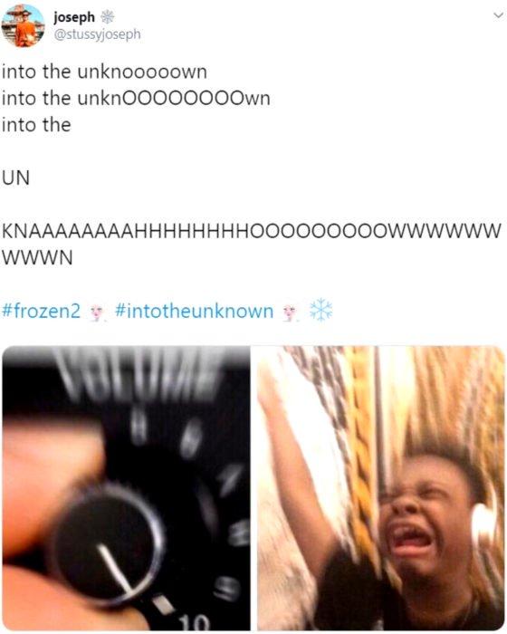 La canción de Into the Unknown de Frozen 2 es la nueva Let it go; meme de súbele a la música