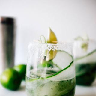 Cucumber Mojitaritas