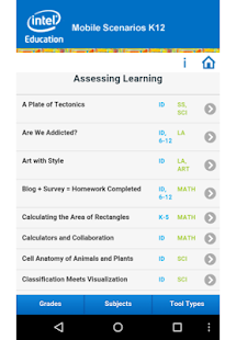 Mobile Scenarios for K12 - screenshot thumbnail