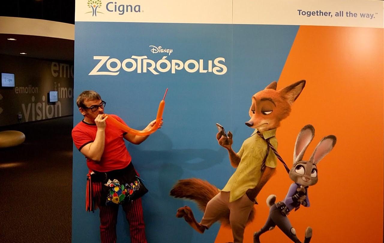 Globoflexia en película Zootrópolis