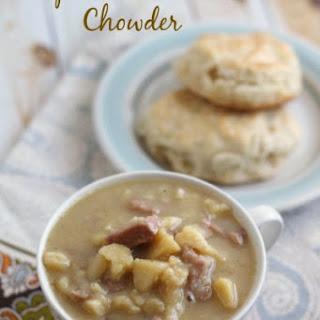 Simple Ham & Potato Chowder