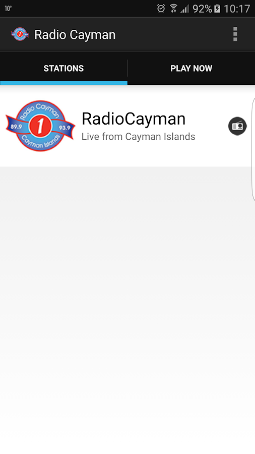 Radio Cayman- screenshot