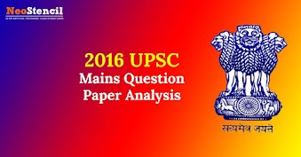 2016 IAS Mains Question Paper Analysis