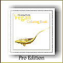 Adult Coloring Book- Vegan Pro