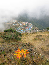 Photo: Namche from above