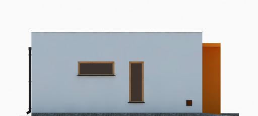 G355 - Budynek garażowo-gospodarczy - Elewacja lewa
