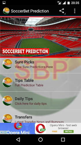 SoccerBet Prediction