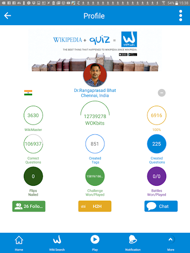 WikiMaster- Quiz to Wikipedia screenshot 12