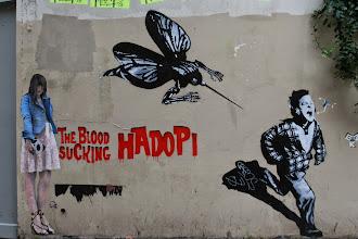 Photo: Street art - Sampsa -Paris XIIIe -La butte aux cailles