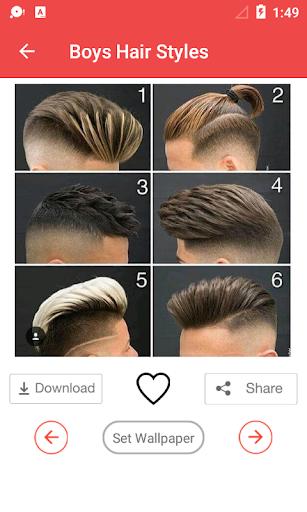 Latest Boys Hairstyle 2018 1.0.3 screenshots 15
