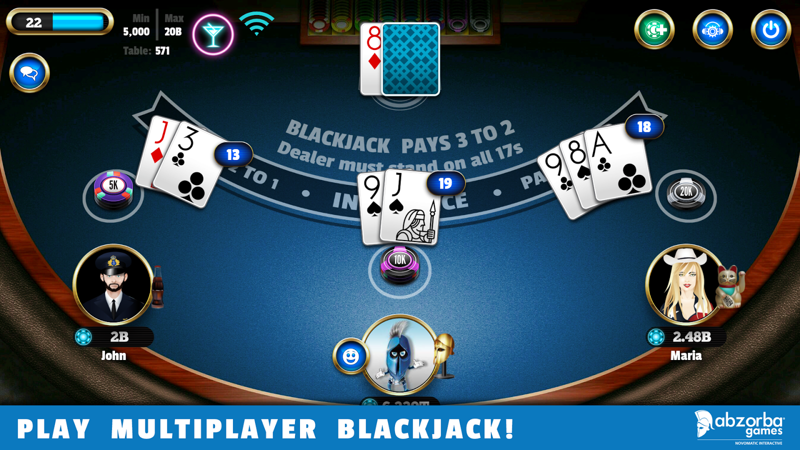 Free Blackjack Instructions