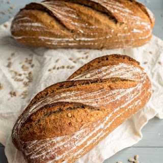 Whole Wheat Sunflower Seed Bread (version 2)