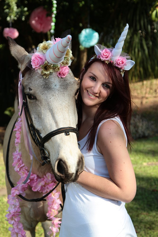 Unicorns might not be real' but they're making appearances at South African birthdays