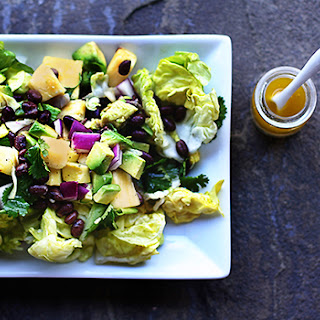 Recipe for Gold and Onyx Gem Lettuce Salad