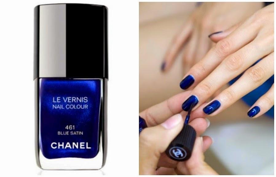 Notícias: volta do Blue Satin da Chanel