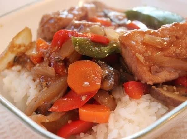Oriental Pork Stir-fry