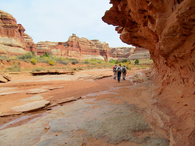 Walking in Pictograph Fork