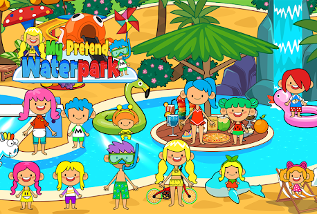 My Pretend Waterpark - Kids Summer Splash Pad - náhled