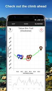 Tahoe Rim Trail Guide- screenshot thumbnail