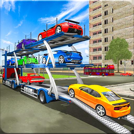 City Sports Car Truck Transport Simulator