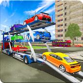 Transport Car Cargo Truck Driving