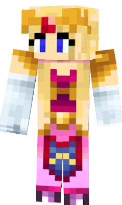 Zelda Princess Nova Skin - Skins para minecraft zelda