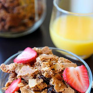 Paleo Cereal Recipe ~ Cranberry Almond Crunch {Gluten Free}