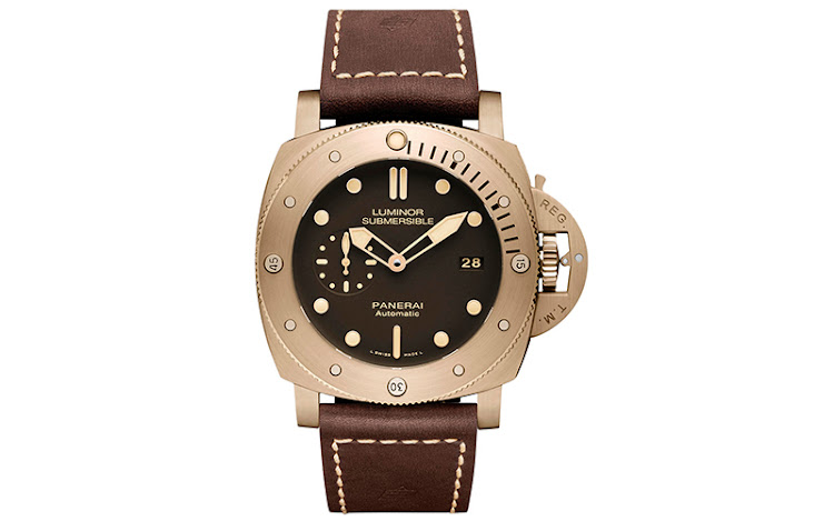 The 47mm Luminor Submersible 1950 3 Days Automatic Bronzo