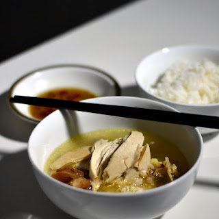 Vietnamese Chicken (and) Lime Soup.