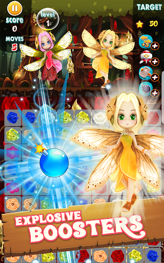Flowers Blast - flower games 1.14 screenshots 12