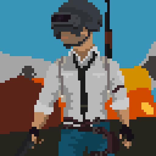 Pixel BattleGrounds: Battle Royale 0.8 screenshots 1