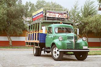 Photo: Mitad Del Mundo truck