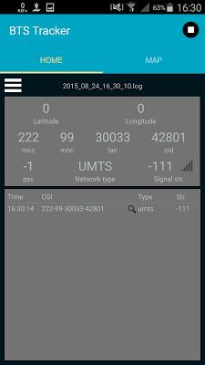 Securcube BTS Tracker - screenshot
