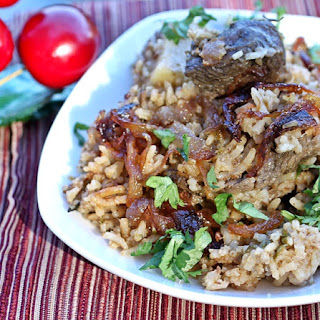 Slow Cooker Lamb Pulao