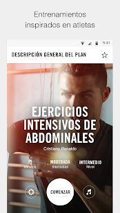 Anillo duro lente raya  Nike Training Club - Entrenamientos en casa - Apps en Google Play