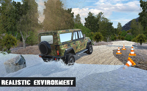Off-road Army Jeep  captures d'écran 1