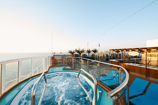 Head to the adults-only Serenity retreat on Carnival Vista for some quiet time.