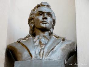 Photo: Bustul lui Mihai Eminescu - (2011.02.13)