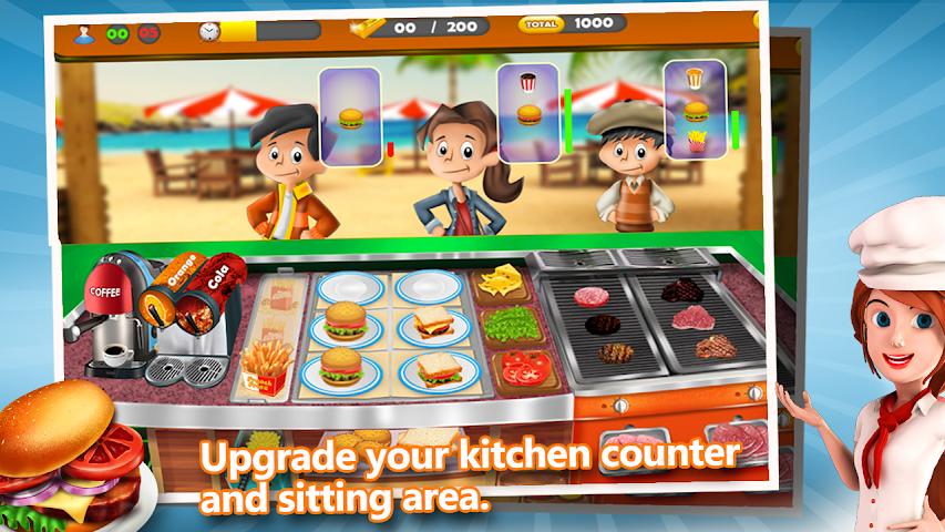 android Rapide Tycoon Street Food Screenshot 1