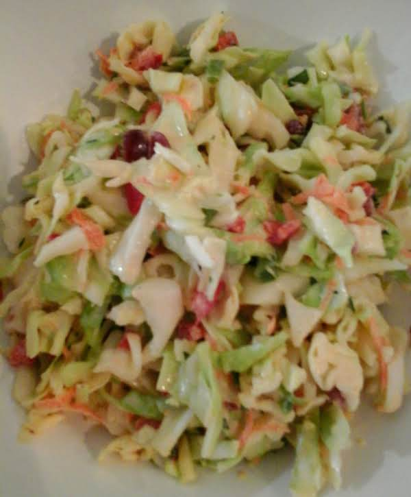 Cranberry Jalapeno Cole Slaw....the Perfect Accompaniment To Grilled Meats. Try This At Your Next Bbq....or Put It On Top Of Your Grilled Fish Tacos.