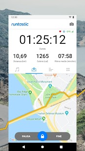 Runtastic Running - GPS Tracker e Conta Calorie Screenshot