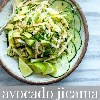 Avocado Jicama Cucumber Salad Recipe