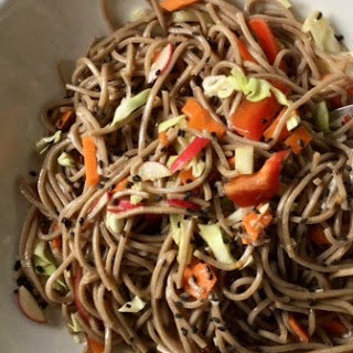 Buckwheat Noodle Salad Recipe