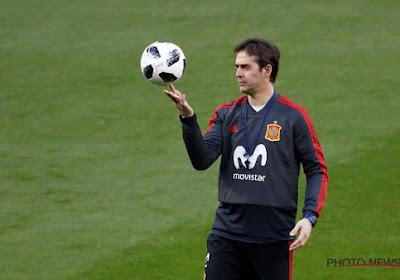 Le départ de Julen Lopetegui n'a pas encore été digéré par les joueurs de la Roja