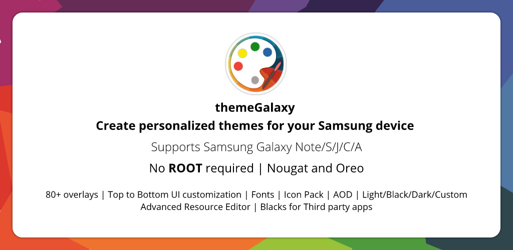 Download theme Galaxy - Theme Maker for Samsung Galaxy APK
