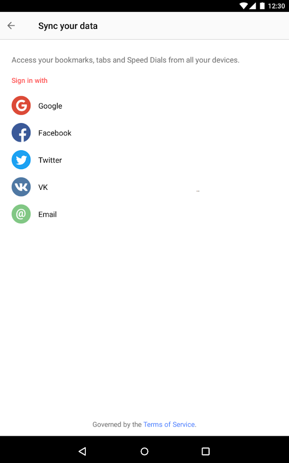 Opera browser - news & search- screenshot