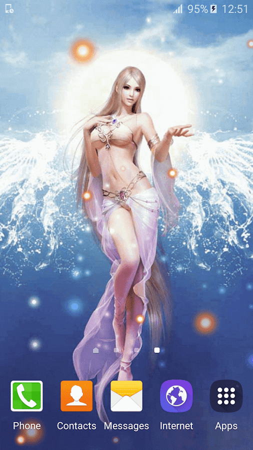 angels live wallpaper hd android apps on google play