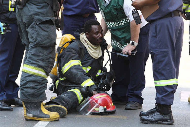 Three firefighters who died while fighting a blaze at the Bank of Lisbon building in Johannesburg in September 2018 will be honoured on Monday.